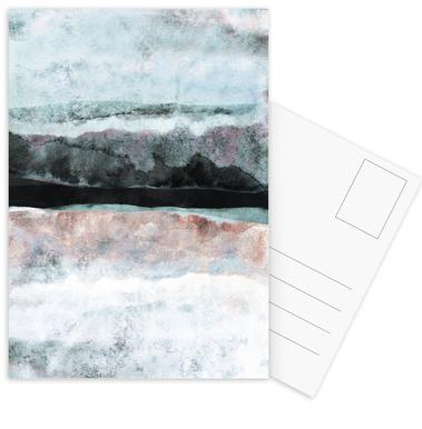 Watercolors 24X Postcard Set