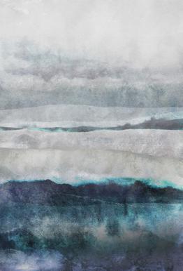 Watercolors 29 Aluminium Print
