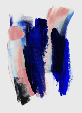 Abstract Brush Strokes 2