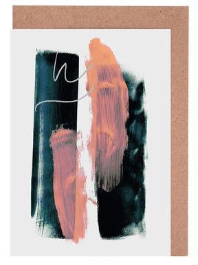 Abstract Brush Strokes 3X