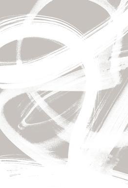 Abstract Brush Strokes 6