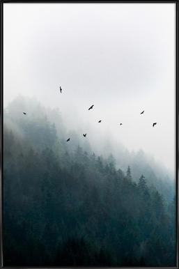 Foggy Morning 4 Framed Poster