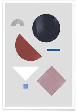 Geometric Shapes 9 poster