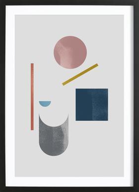 Geometric Shapes 10 Framed Print