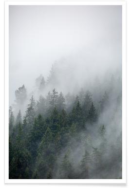 Foggy Morning 2 -Poster