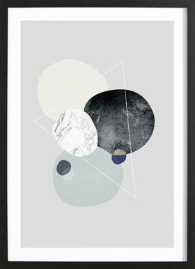 Graphic 89 - Poster in Wooden Frame