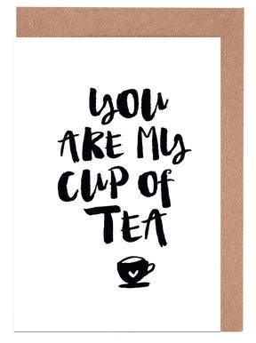 You Are My Cup Of Tea Greeting Card Set