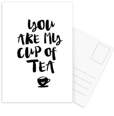 You Are My Cup Of Tea ansichtkaartenset