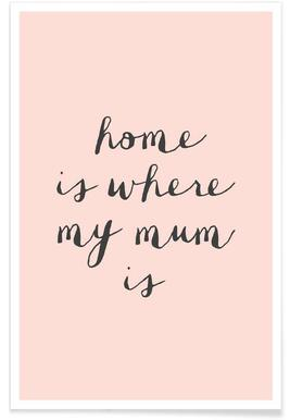 Home Is where My Mum Is affiche