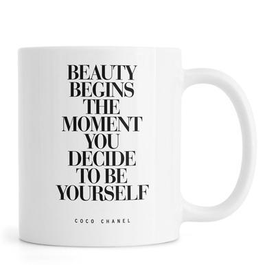 Beauty Begins -Tasse