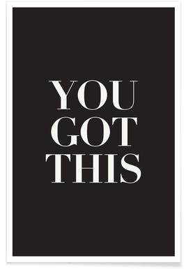 You Got This - Premium poster