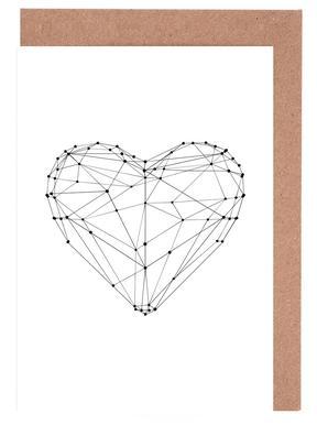 Geo Heart cartes de vœux