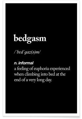 Bedgasm -Poster