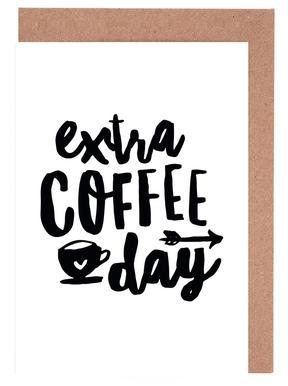 Extra Coffee Day wenskaartenset