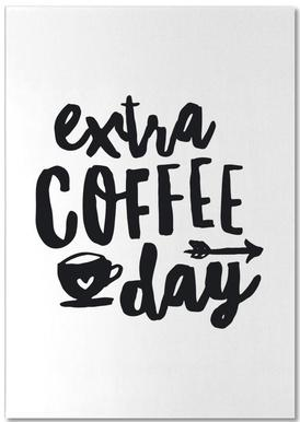 Extra Coffee Day bloc-notes