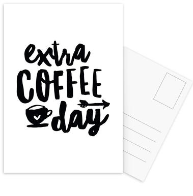 Extra Coffee Day cartes postales