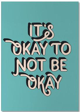 It's Okay to Not Be Okay bloc-notes