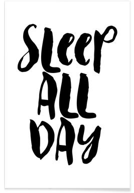Sleep All Day poster
