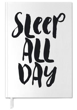 Sleep All Day Personal Planner