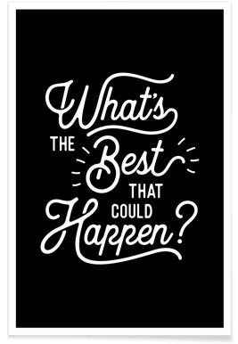 What's the Best that Could Happen Poster