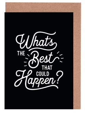 What's the Best that Could Happen Greeting Card Set