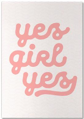 Yes Girl Yes Notepad