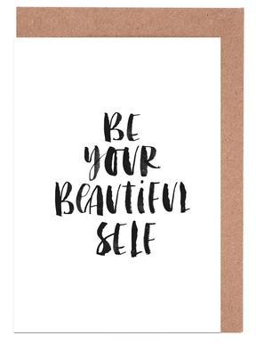 Be Your Beautiful Self Greeting Card Set