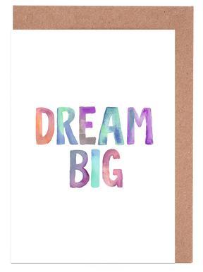 Dream Big cartes de vœux
