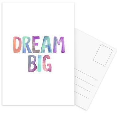 Dream Big cartes postales