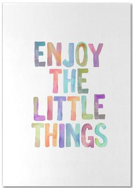 Enjoy The Little Things bloc-notes