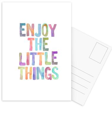 Enjoy The Little Things cartes postales