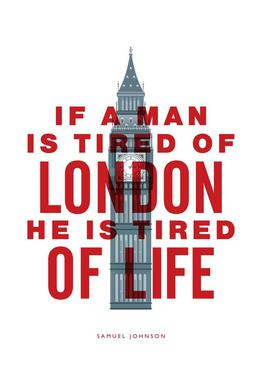If A Man Is Tired Of London Acrylic Print