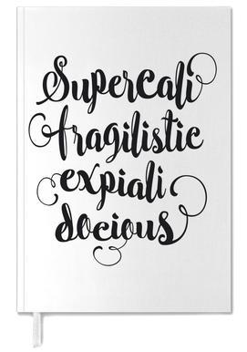 Supercalifragilisticexpialidocious Personal Planner