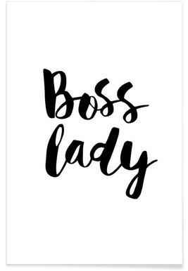 Boss Lady - Premium Poster