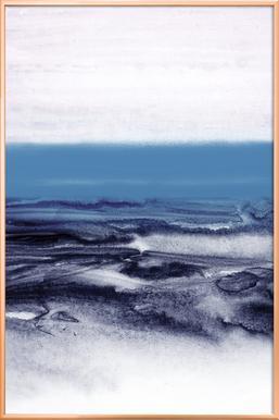 Watercolor Landscape Blue