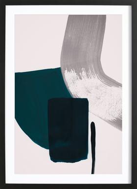 Minimalist Painting 02 ingelijste print