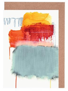 Layered Color 2 Gratulationskort i satt