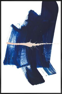 Brushstrokes 4 ingelijste poster