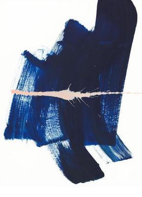 Brushstrokes 4 canvas doek