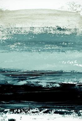 Minimalist Landscape 4 tableau en verre