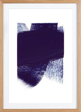 Minimal 4 - Poster in Wooden Frame