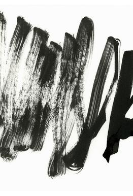 Black On White Acrylic Print