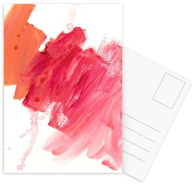 Brush Strokes Postcard Set