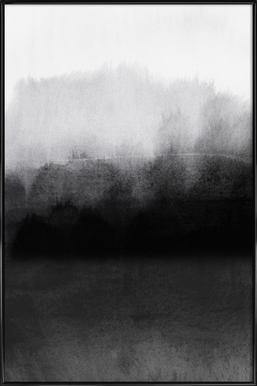 Greyscale Landscape - Poster in kunststof lijst