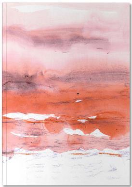 Pink and Modern Orange Notebook