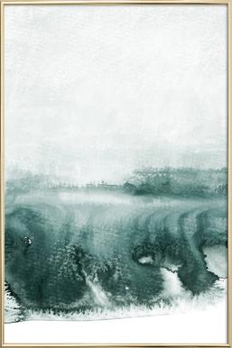 Rainy Day Poster in Aluminium Frame