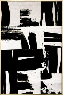 Wabi Sabi 16-02 -Poster im Alurahmen