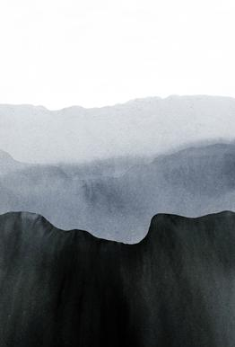 Mountain Horizon 2 alu dibond