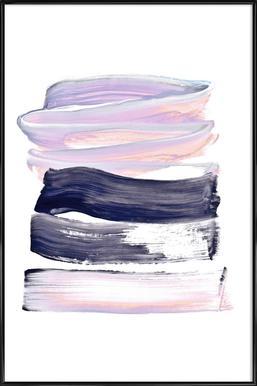 Summer Pastels - Poster in Standard Frame