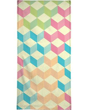 SugarCubes Geometric Pattern Beach Towel